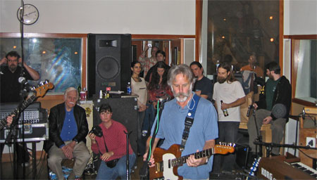 Ratdog in the KPFA performance studio 3/1/06